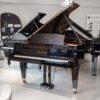 polished black Bosendorfer 214VC grand piano whole piano