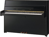 New Kawai K15 Upright Piano - Polished Ebony