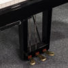 polished black Yamaha C1X SH2 silent grand piano 3 pedals