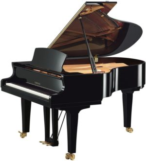 New Yamaha S3X Polished Ebony Grand Piano