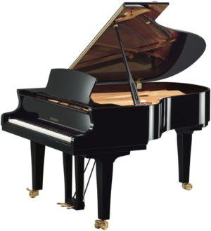 New Yamaha S3X Polished Ebony Grand Piano