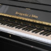 New Steingraber 138 upright piano ebony