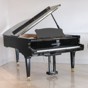 New Steingraber C212 grand piano ebony