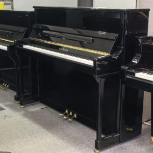 Schimmel upright polished black