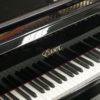The keyboard of a used Steinway Essex 155 Polished Black