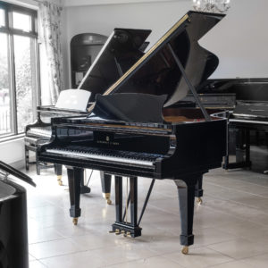 Used Steinway model A Polished Black