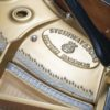 The signature mark of an authentic Steinway model A grand polished black