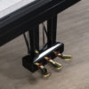The pedals of the Yamaha GB1 grand polished black