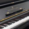 The keyboard of the Steinway & Sons Vertegrand in Polished Black