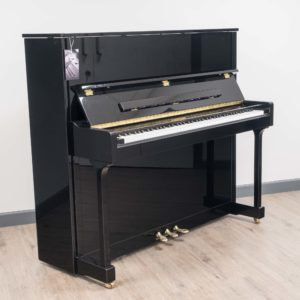 W Hoffman Upright in Polished Black