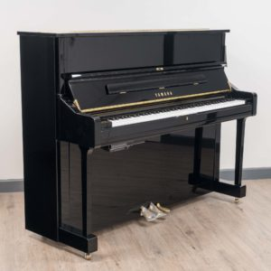 Yamaha U1 Silent in Polished Black