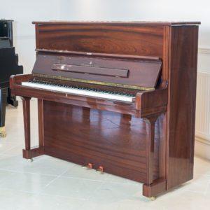Steinway model V polished mahogany