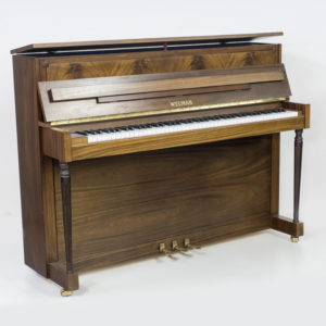 Welmar upright satin mahogany