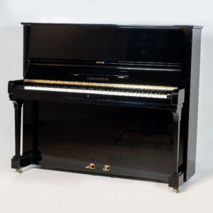 polished black bechstein concert upright piano whole piano