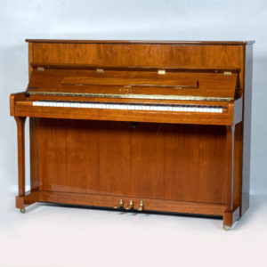 walnut finished kawai K2 upright piano