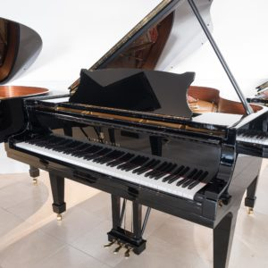 polished black steinway & sons model a grand piano whole piano