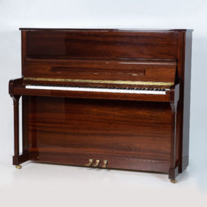 polished mahogany zimmerman upright piano whole piano