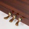 polished mahogany zimmerman upright piano 3 pedals