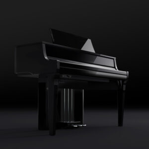 New Kawai NV10 Hybrid Piano - Polished Ebony
