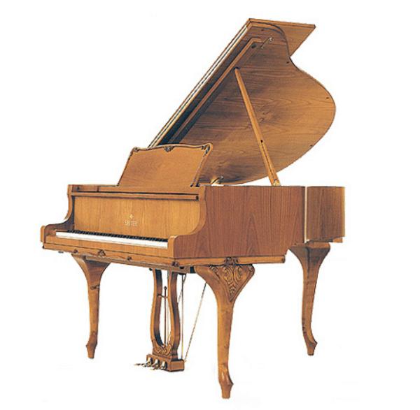 sauter chippendale grand piano cherry satin