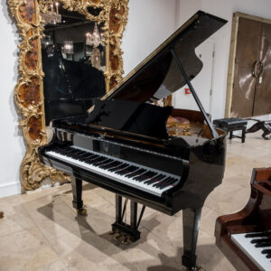 Steinway Model M in polished black