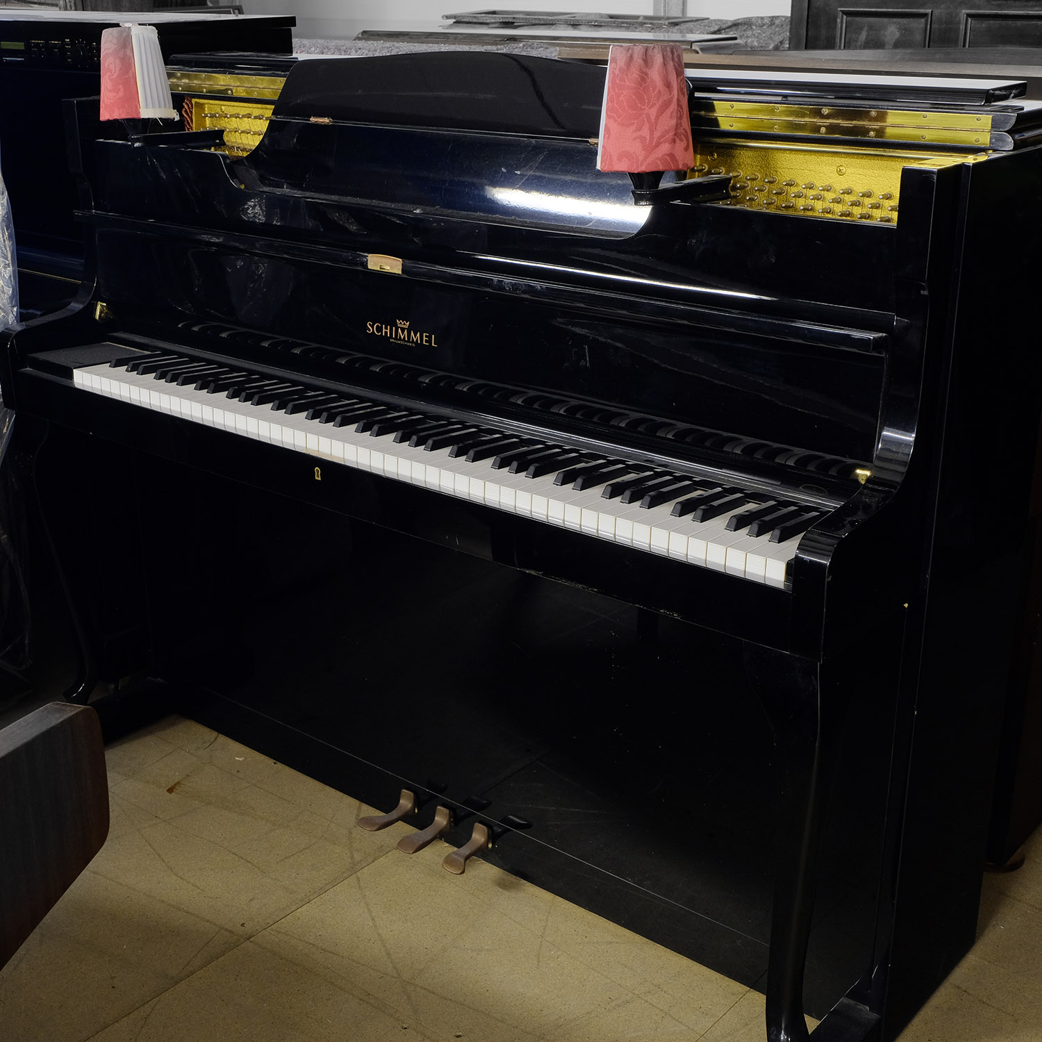 Used Schimmel Upright Piano