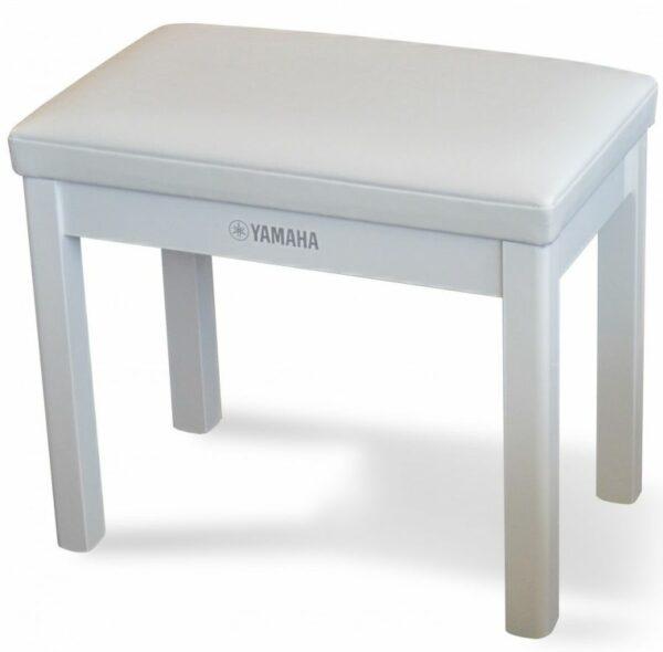 Yamaha GTB Polished White Digital Piano Bench